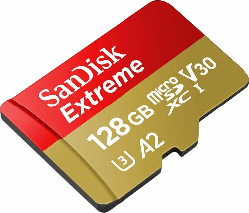 SanDisk Extreme 128 GB SD Card