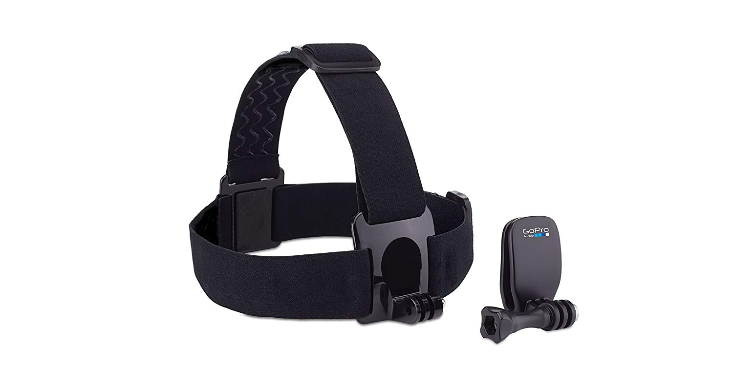 head strap mount and quick clip for gopro