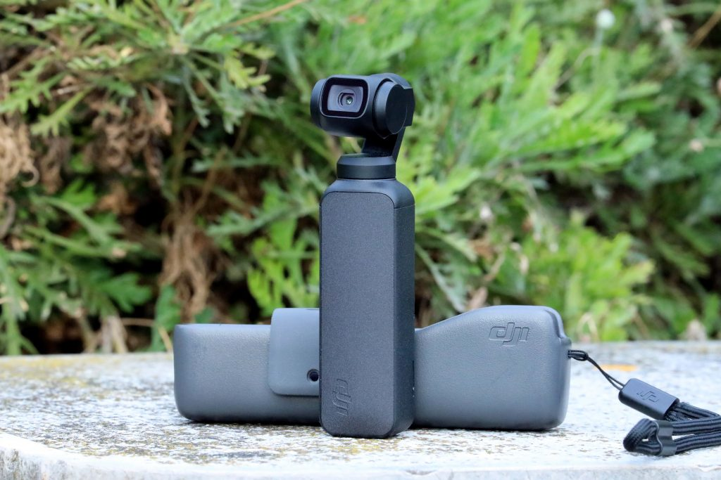 DJI Osmo Pocket with case
